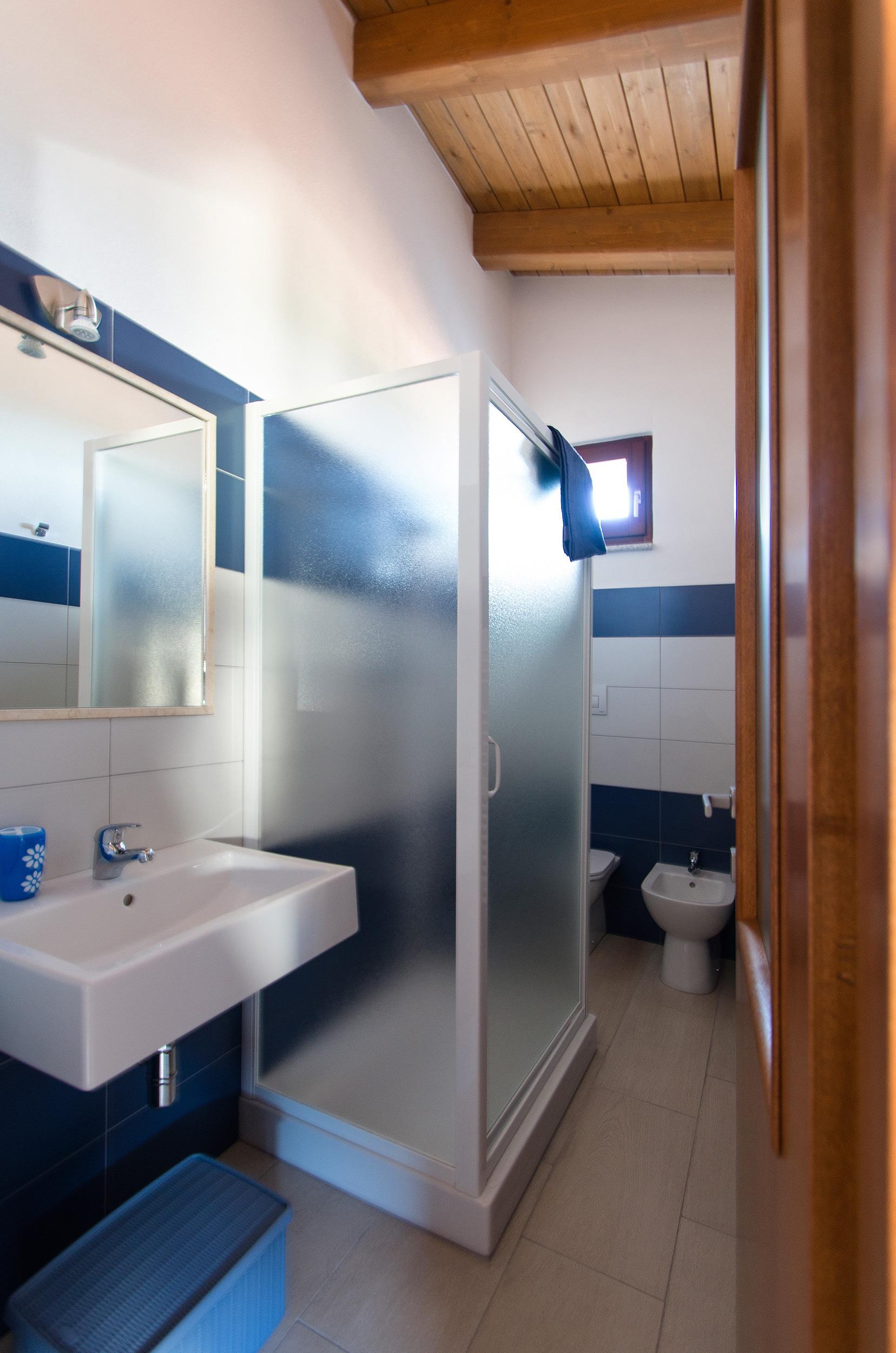 la stanza Blu - il bagno
