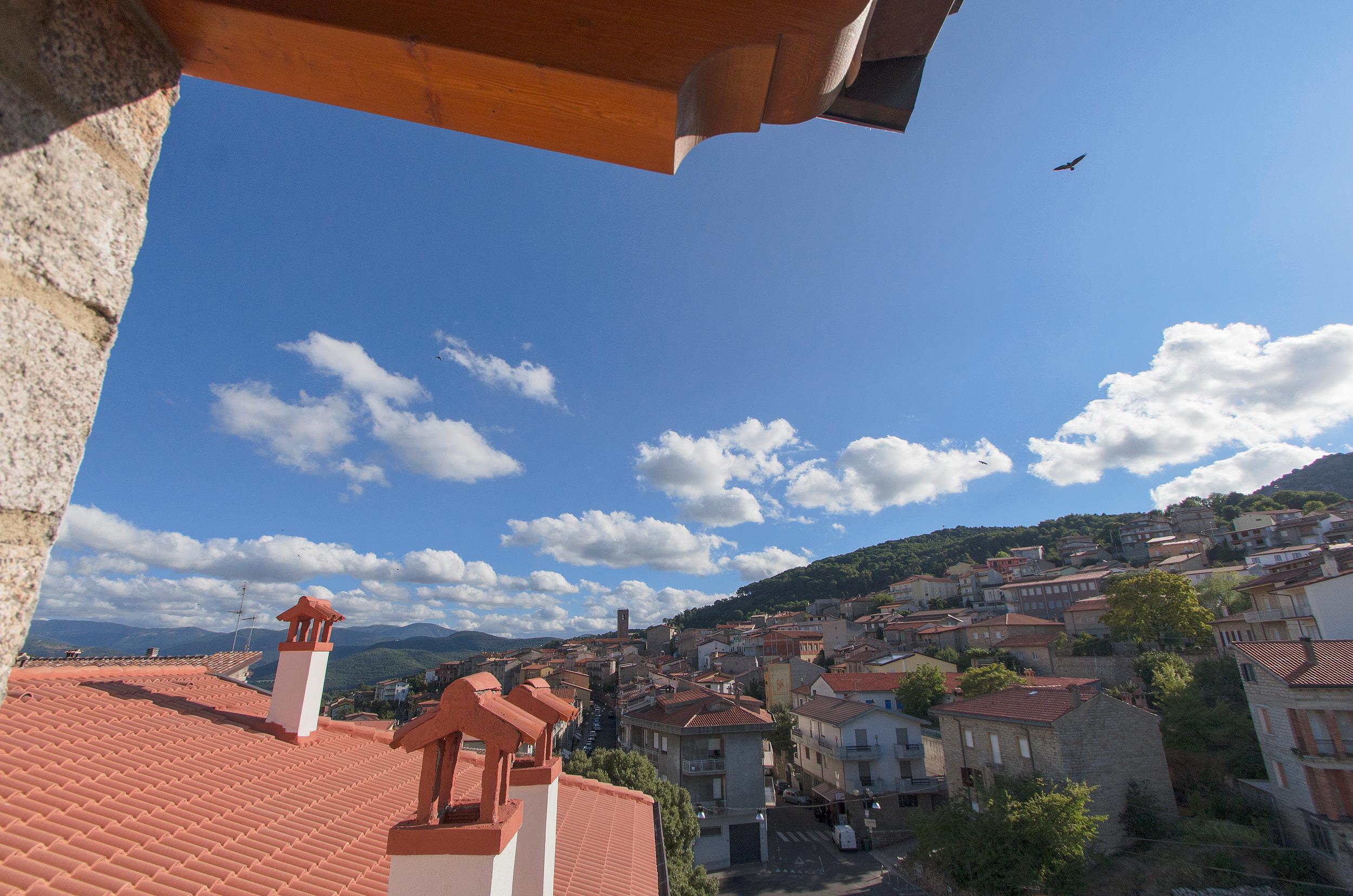 terrazza - vista centro storico