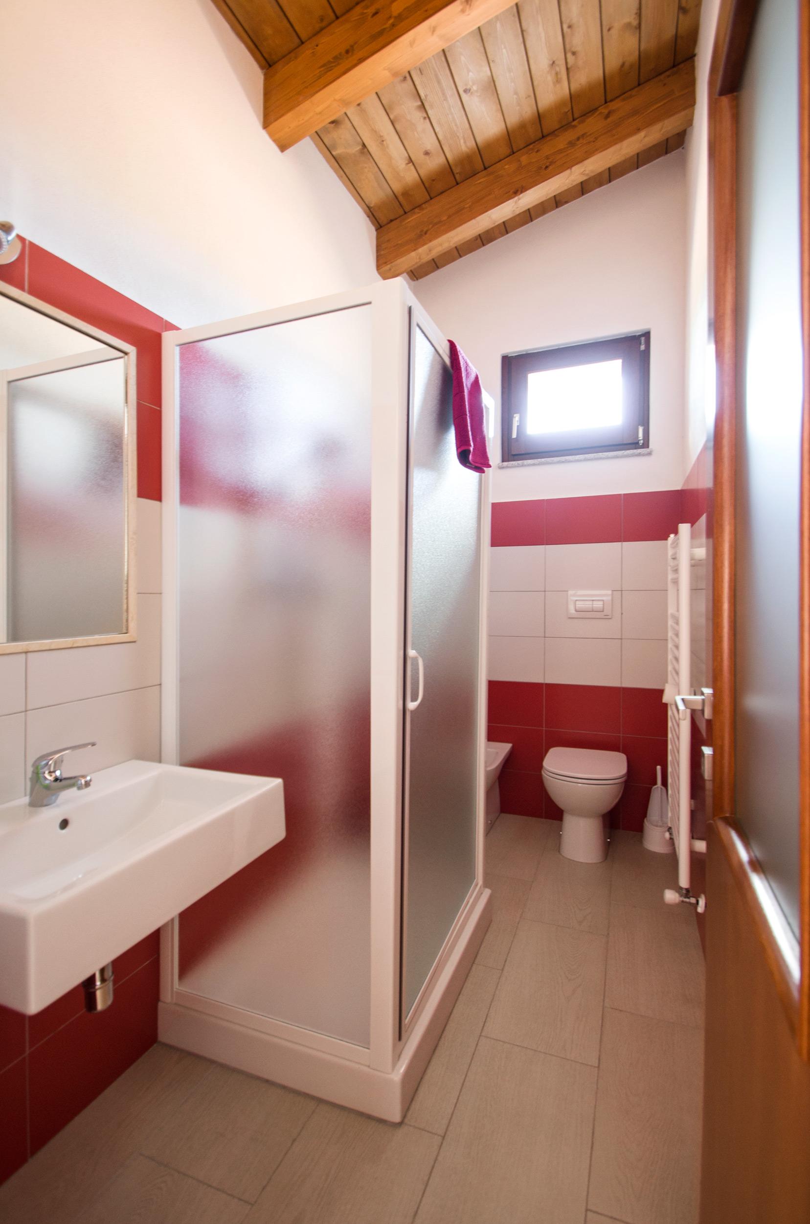 la stanza Rossa - il bagno