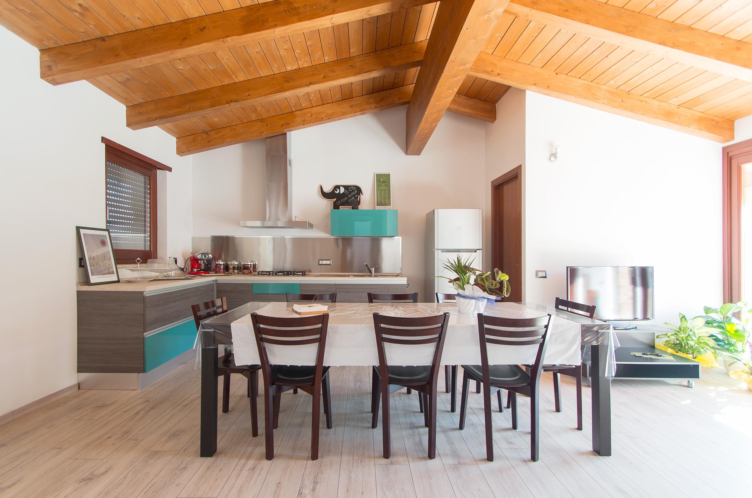 open space - soggiorno cucina